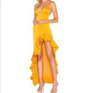 Lovers + Friends yellow dress